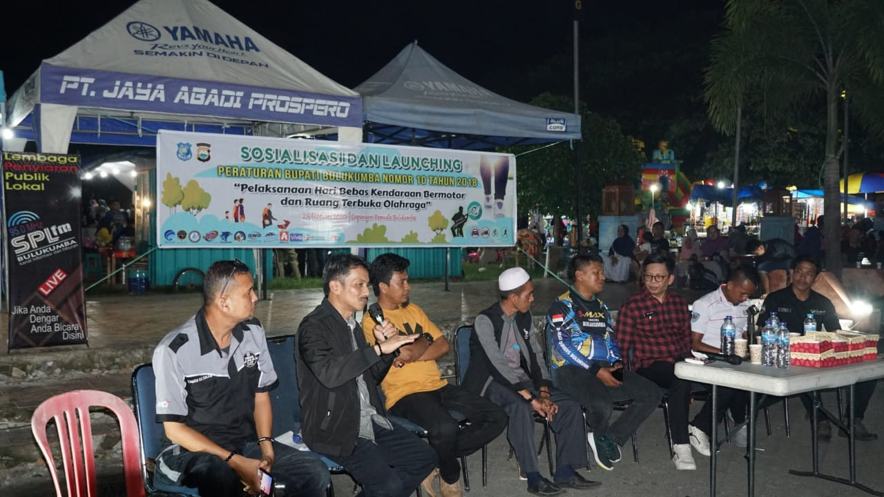 KOMINFO BULUKUMBA LAUNCHING CAR FREE DAY