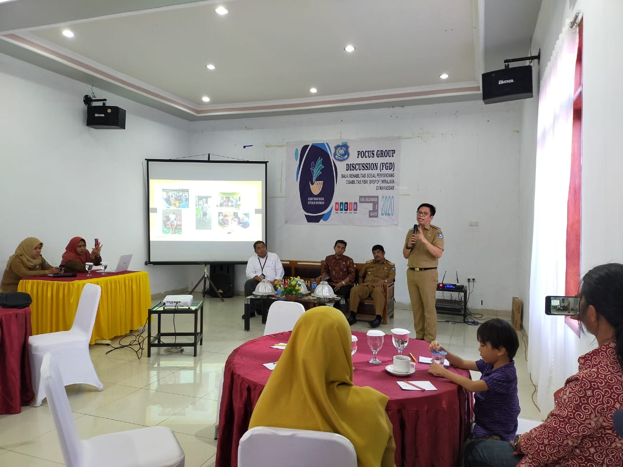 BRSPDF BANTU PROGRAM KEMANDIRIAN DISABILITAS